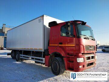 3 КамАЗ 65208 автофургон