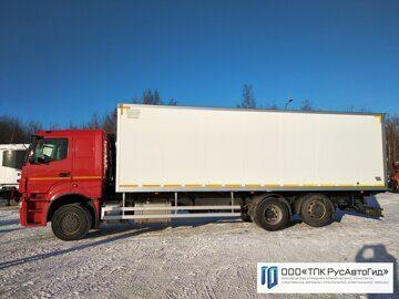 2 КамАЗ 65208 изотерм фургон