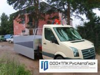 Volkswagen Crafter с КМУ Pafinger PK 30002