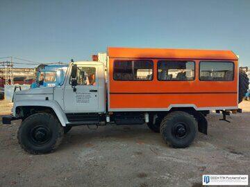 3 вахтовый автобус газ садко