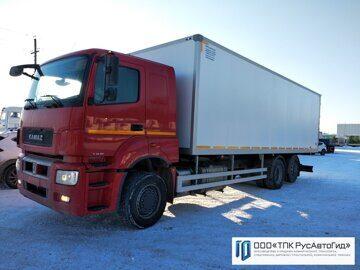 1 КамАЗ 65208 фургон