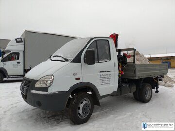 1 ГАЗ 3302 с КМУ Fassi